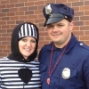 Prisoner and policeman