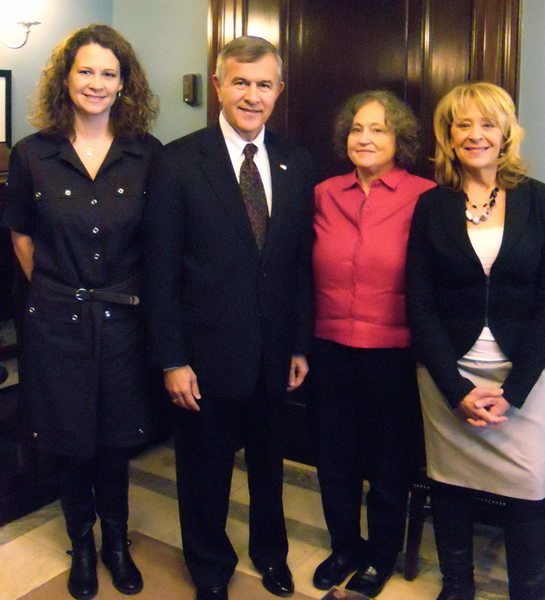 NSRC PACT members with Sen. Mike Johanns.