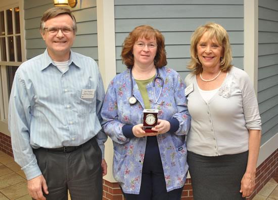 Dave Pelton, Kathy Davison and Nan Nathenson