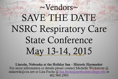 NSRC State Conference 2015 save the date
