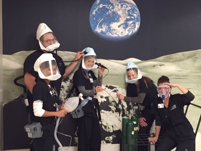 """Respiratory Therapy is Out of This World"" by Julie Fuller"