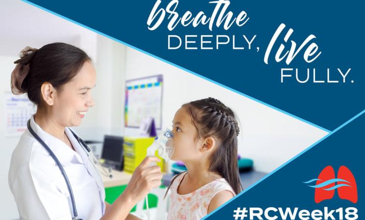 Celebrate Respiratory Care Week 2018